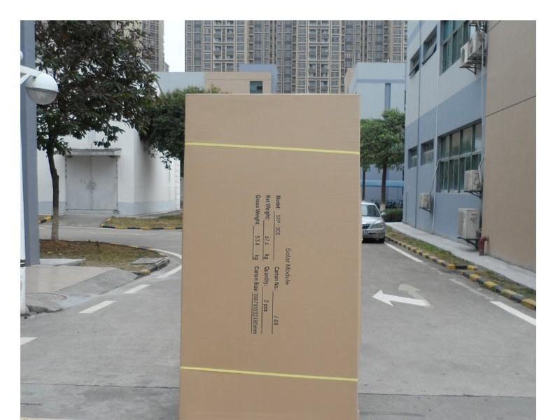 新款250w多晶太阳能板