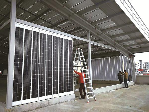 贵州光伏建筑一体化819.2KW光伏并网发电案列