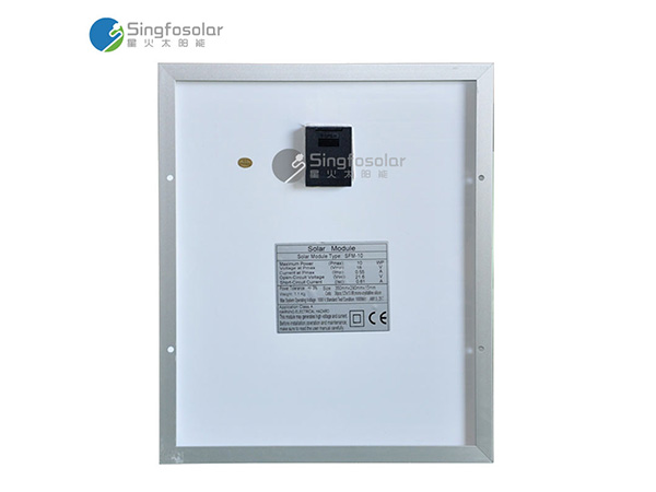 10w单晶太阳能电池板