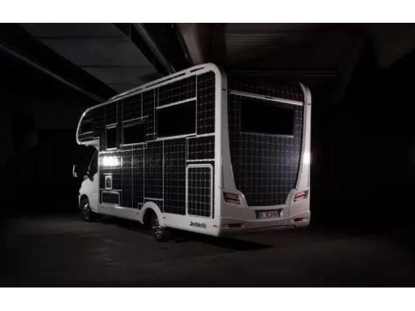 装在房车上的太阳能电池板价格差异,发电功率大不相同