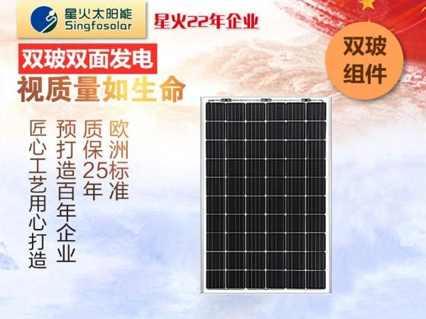 雙(shuang)玻雙(shuang)面太(tai)陽能(neng)電池板(ban)