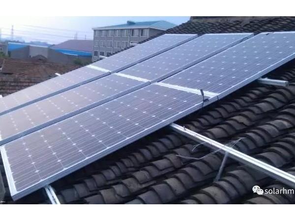 多少平米屋顶可以做家用太阳能发电?