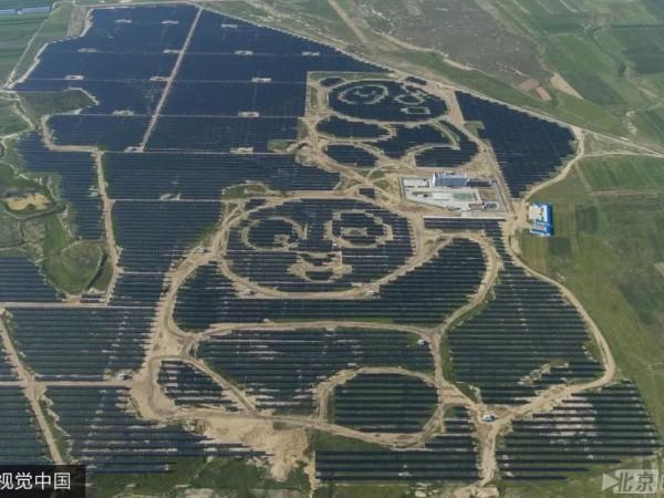 中国太阳能发电场正在影响世界