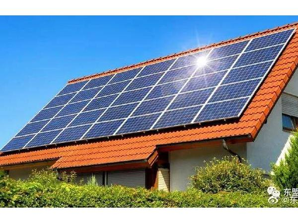 售卖农民屋顶光伏板发电