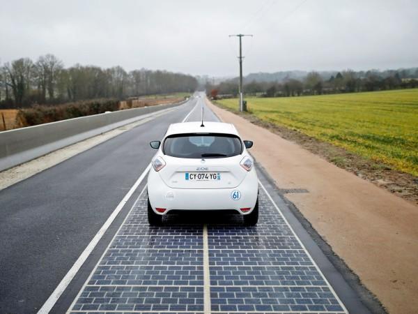 全球第一条太阳能发电公路1千米耗资3661万,如今却彻底失败