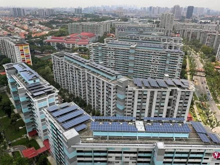 善用太阳能!新加坡明年半数的组屋将装有太阳能板
