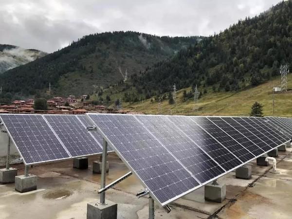 文杰中学195.61KW扶贫光伏发电项目