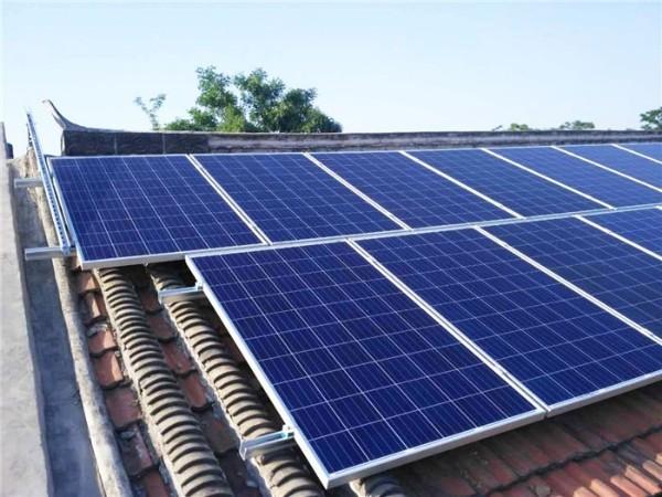 给房子安装一套光伏电站降降温,光伏电站可降温3-6℃