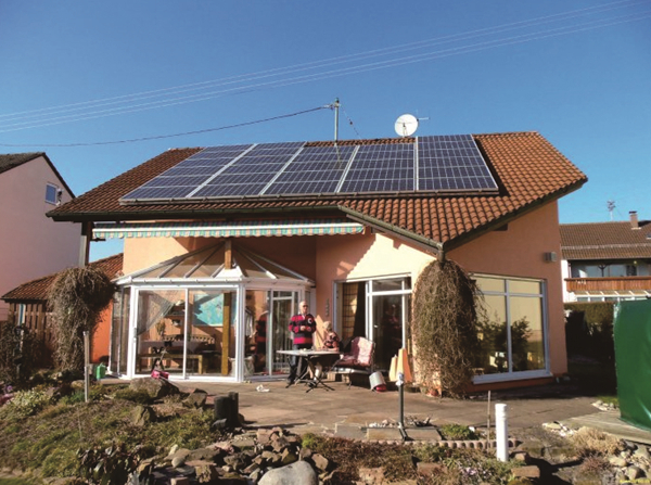 别墅屋顶光伏发电