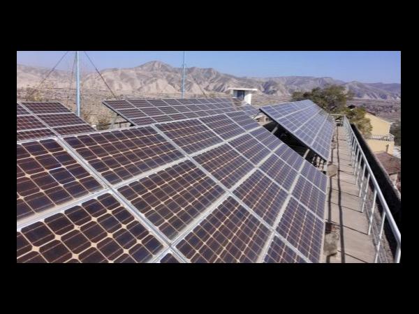 新疆五家渠市首个户用光伏电站投运