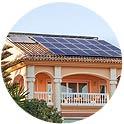 别墅屋顶光伏发电工程