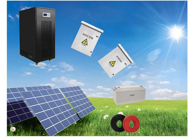 100k-150kVA太阳能离网系统