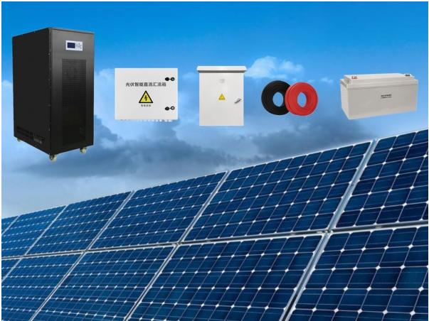30k-80kVA工业离网太阳能发电系统