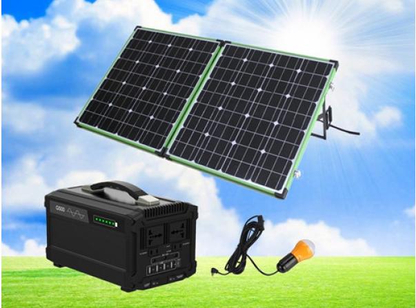 300W/500太阳能便携系统
