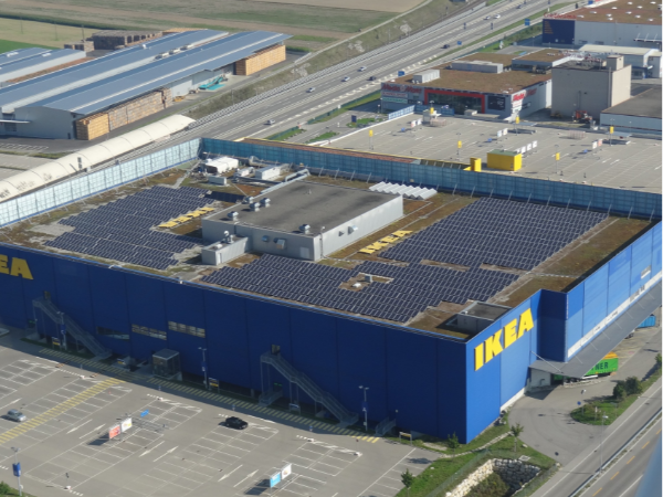 央视都在点赞:企业屋顶安装太阳能光伏发电电站