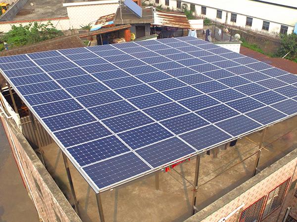居民楼分布式光伏发电-不锈钢方通支架