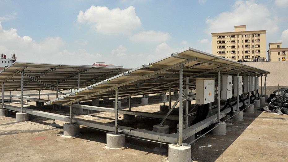 C型槽钢支架-太阳能光伏发电
