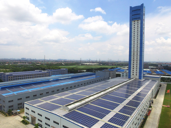彩鋼瓦屋面(mian)光伏發電