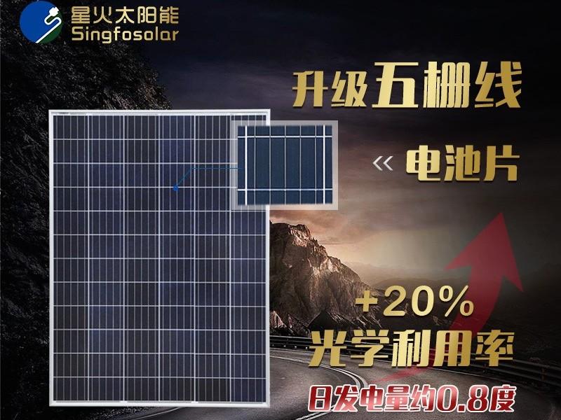 200w多晶太阳能电池板