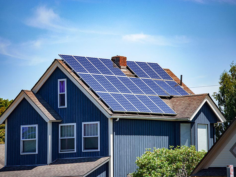 谢岗工厂屋顶10kW离网太阳能发电系统工程案例