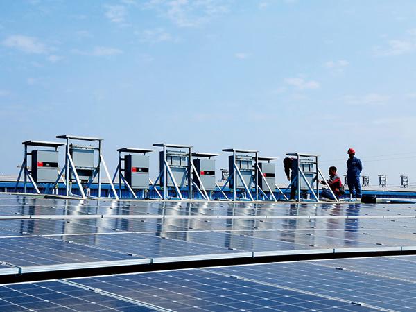 广州工厂3MW太阳能光伏并网发电项目案例