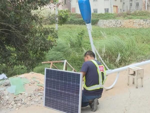 村里装一台光伏发电设备赚钱,都来围观了