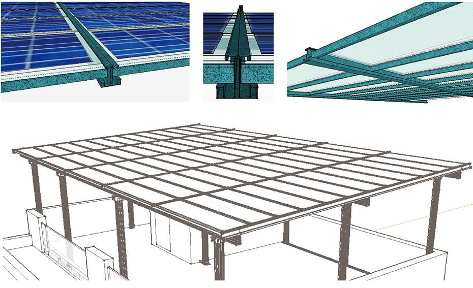 防水支架结构图