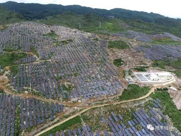 全国最大光伏发电站--星火太阳能